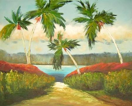 obraz Cesta k moři
