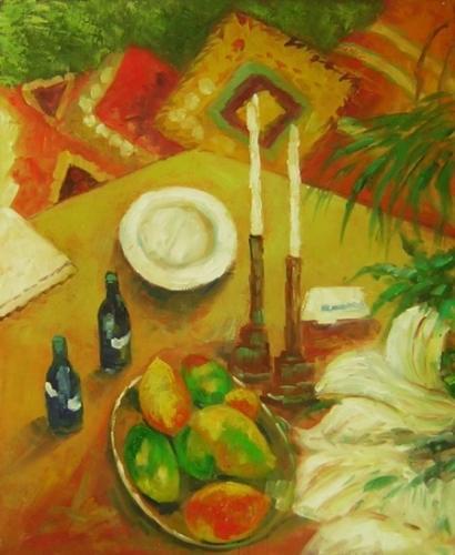 obraz Romantická večeře