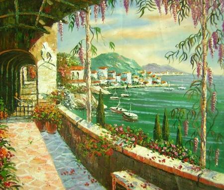 obraz Romantické město
