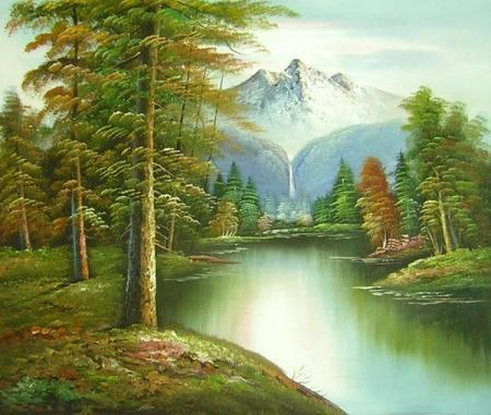 obraz Příroda