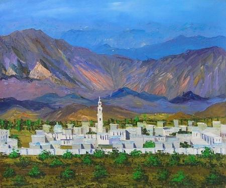 obraz Podhorské město