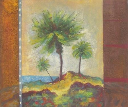 obraz Pohled na palmy