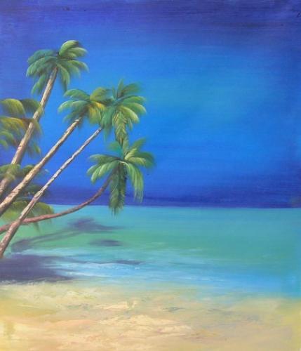obraz Opuštěná pláž