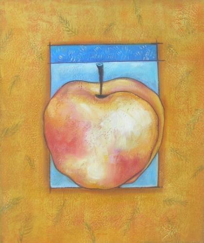 obraz Zlaté jablko