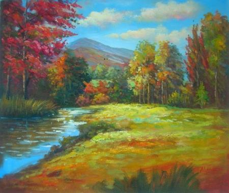 obraz Slunečný podzimní den