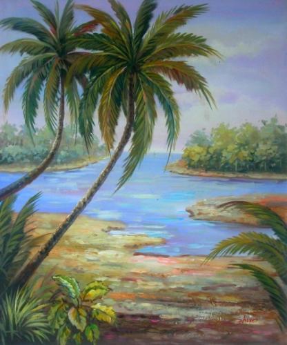 obraz Opuštěné ostrovy