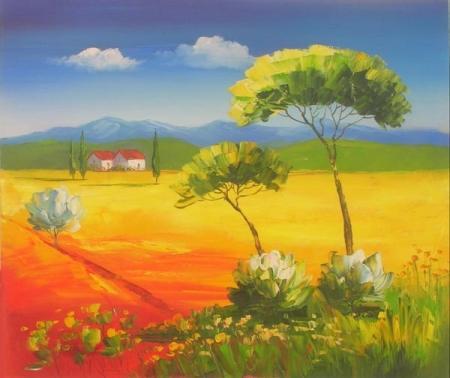 obraz Obilné pole