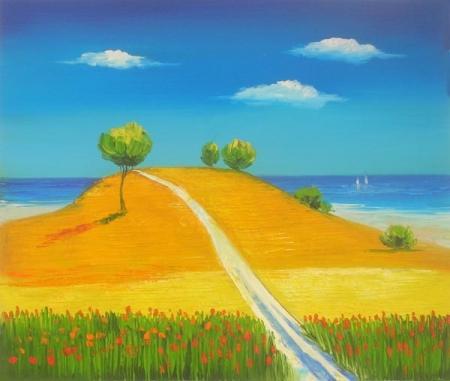 obraz Cesta na vyhlídku