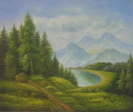 obraz Panenský výhled