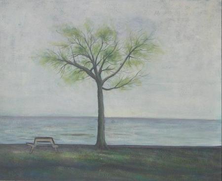 obraz Samotný strom