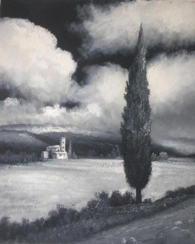 obraz Osamělý