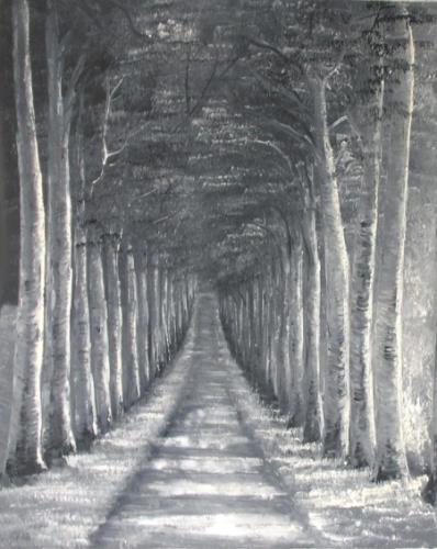 obraz Stromořadí