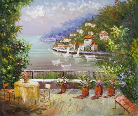 obraz Italský výhled