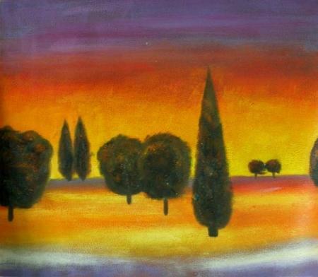 obraz Nebeské stromy