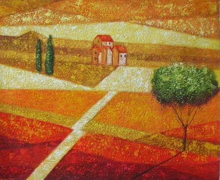 obraz Přímá cesta