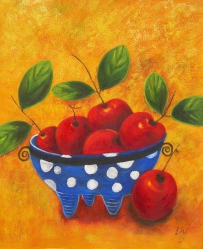 obraz Mísa s jablíčky
