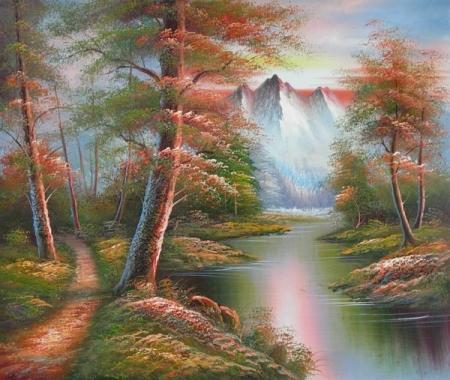 obraz Neverland na jaře