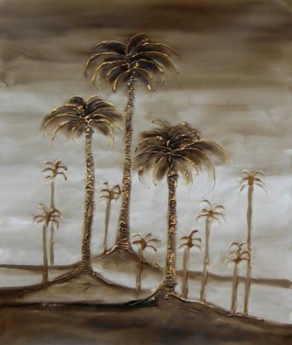 obraz Palmy na ostrovech