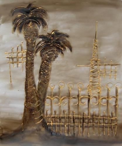 obraz Dvě palmy