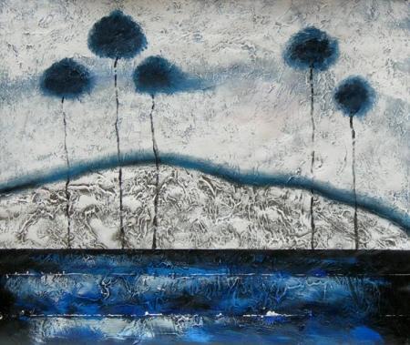 obraz Stromy v moři