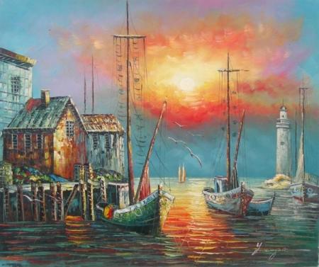 obraz Námořní pohled