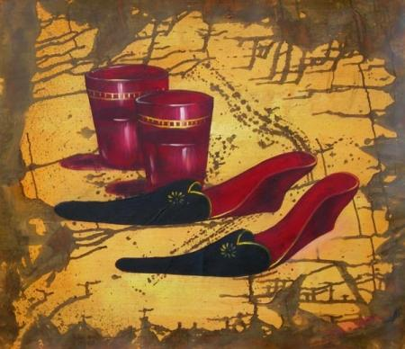 obraz Ztracené boty