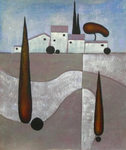 obraz Moderní  město
