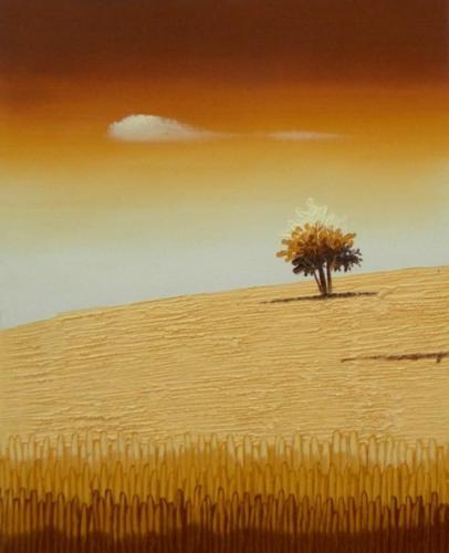 obraz Strom a obilí