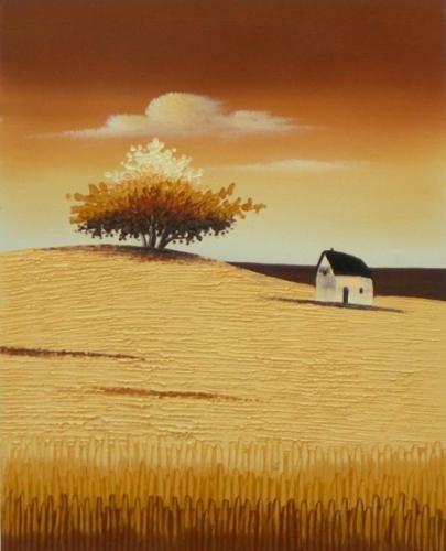 obraz Dům a strom