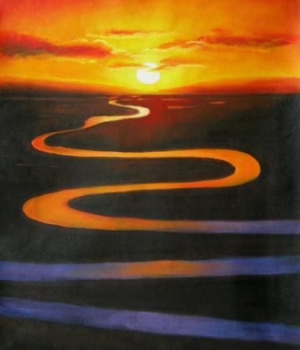 obraz Řeka