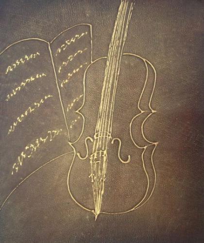 obraz Zlaté housle