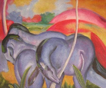 obraz Čtyři koně