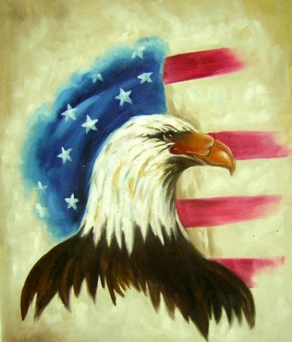 obraz Americký orel