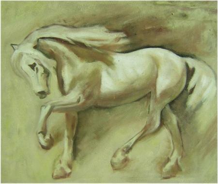 obraz Běžící kůň
