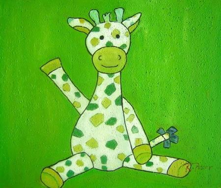 obraz Žirafa