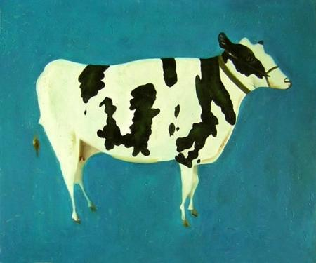 obraz Kráva