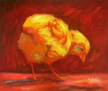 obraz Kuře