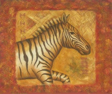 obraz Zebra v běhu