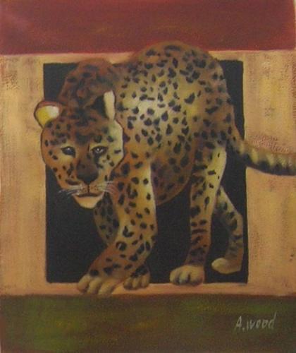 obraz Leopard