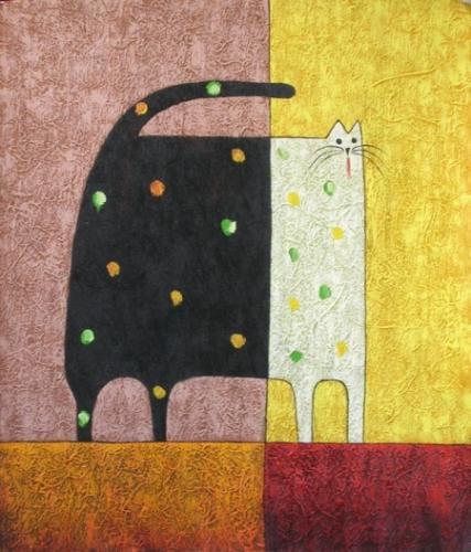 obraz Korpulentní kočka