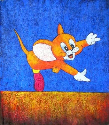 obraz Myšák Jerry