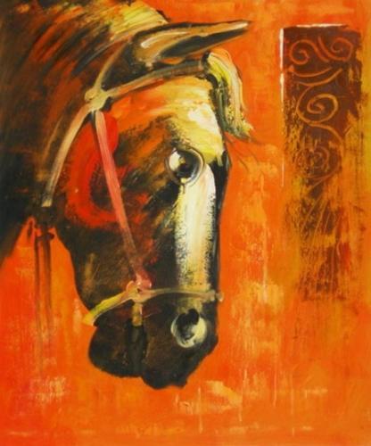 obraz Hlava koně