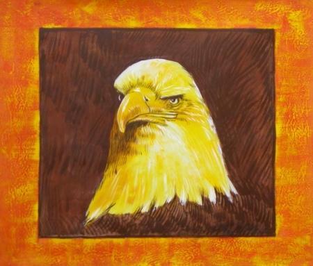 obraz Hlava orla