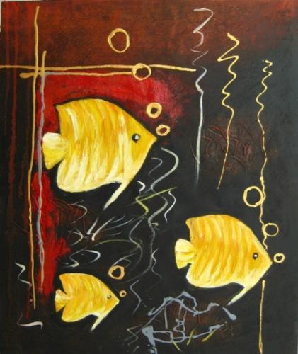 obraz Zlaté ryby