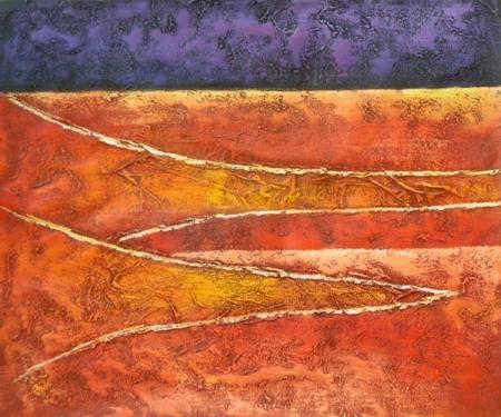 obraz Oranžová řeka