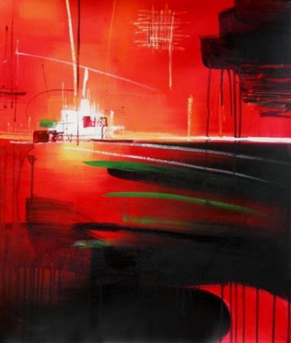obrazy ručně malované - obraz Abstraktní obrazy - Naděje, obrazy do bytu