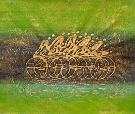 obraz Zelený závod