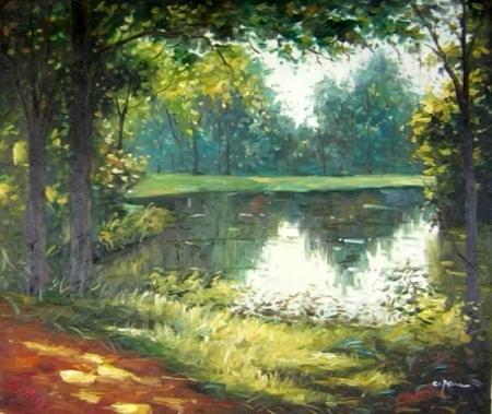obraz Pohádkový les