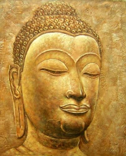 obraz Hlava Buddhu