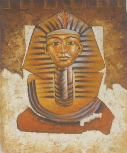 obraz Hlava Sfingy